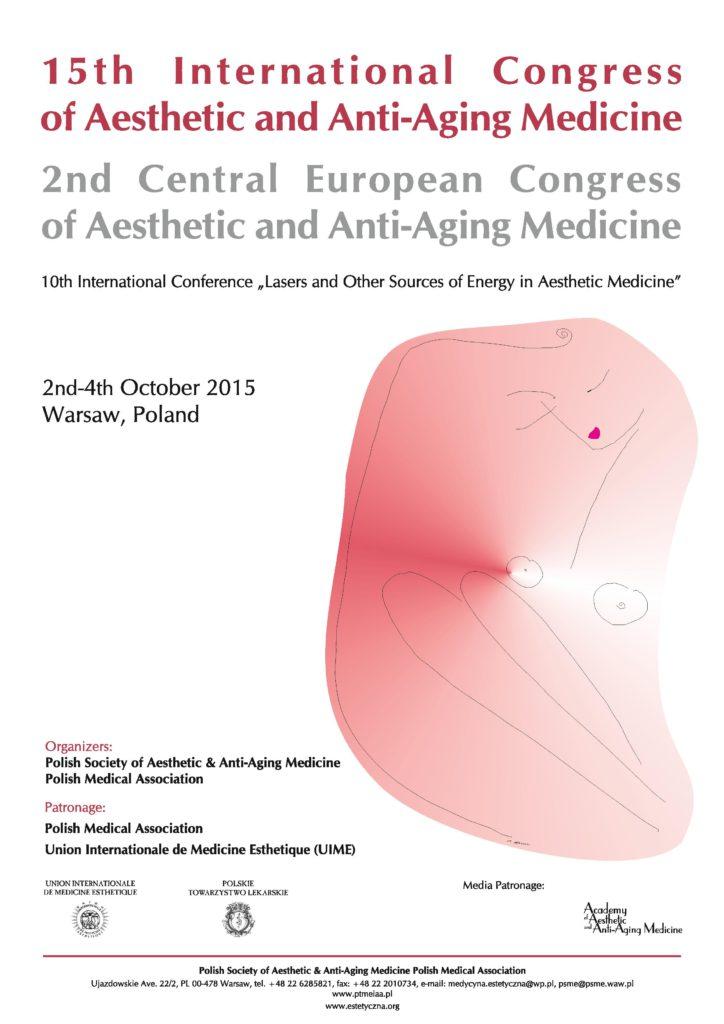 XV Międzynarodowy Kongres Medycyny Estetycznej i Anti-Aging