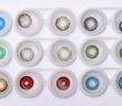 koloryzujące szkła kontaktowe