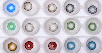 Koloryzujące soczewki kontaktowe