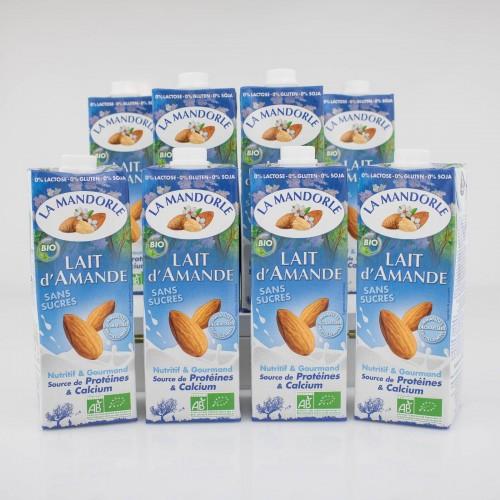 Migdałowe produkty bez laktozy