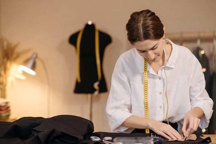 starannie wykonane ubrania